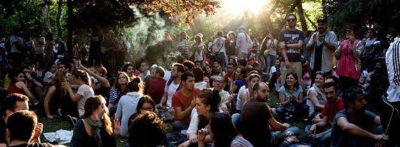 Gezi Commune; Picture taken from www.eventportalzentrale.de